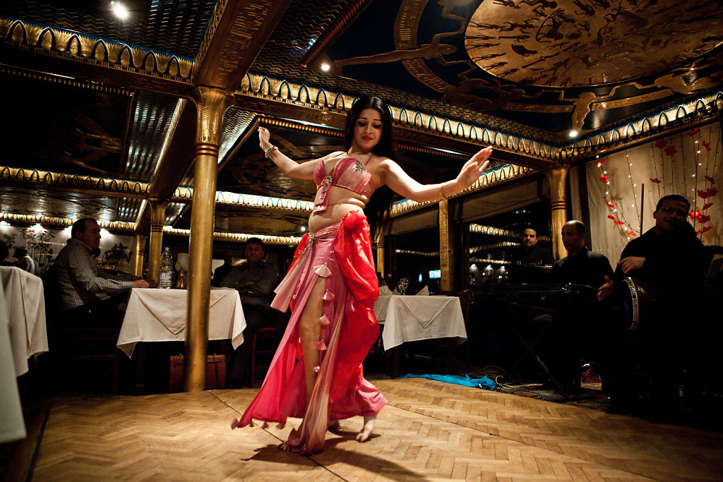 Living a dream as a belly dancer
