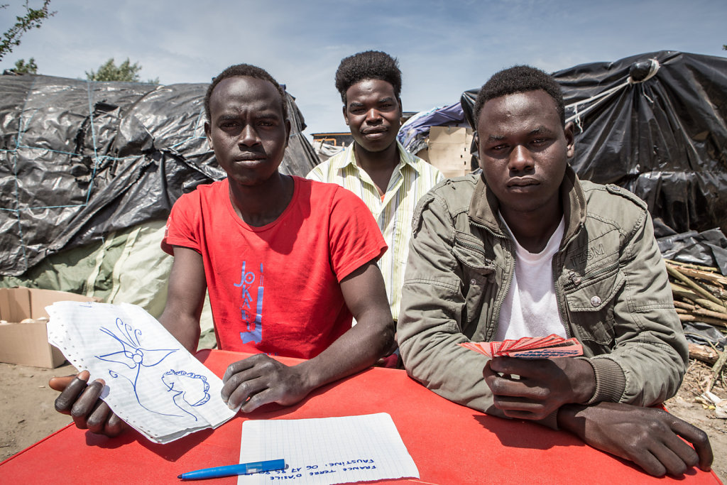 Les exilés de Calais