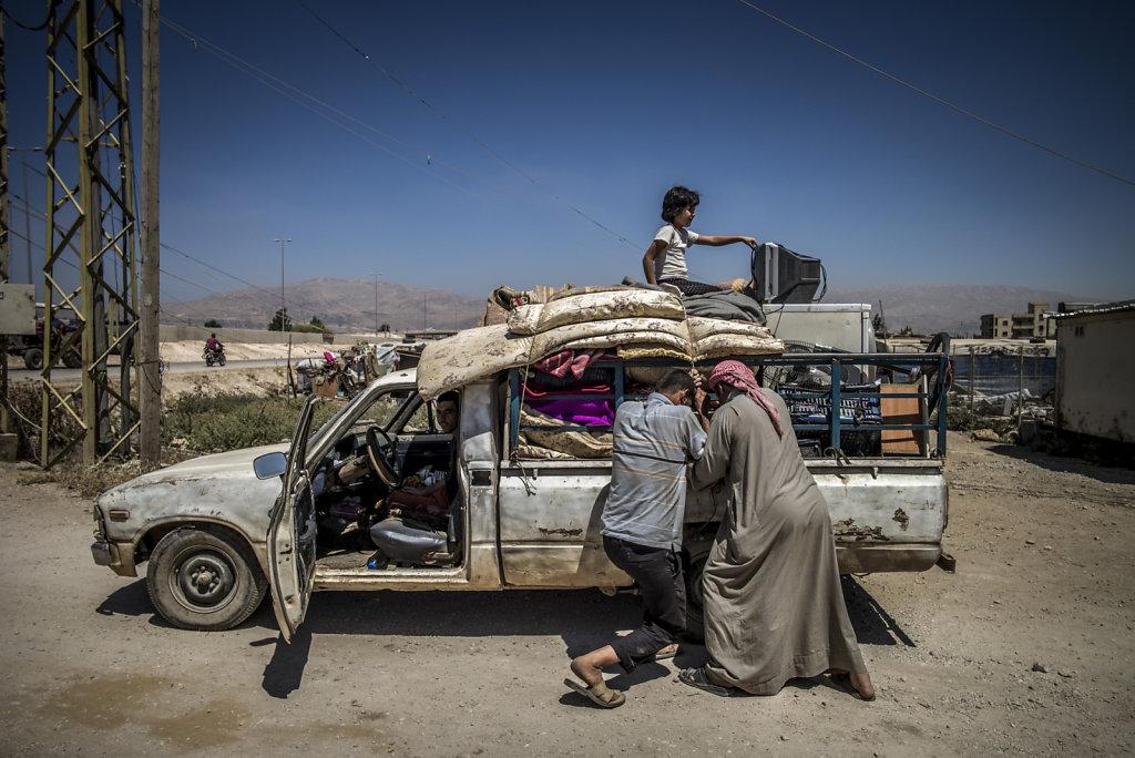 Des bombes de Syrie aux camps du Liban
