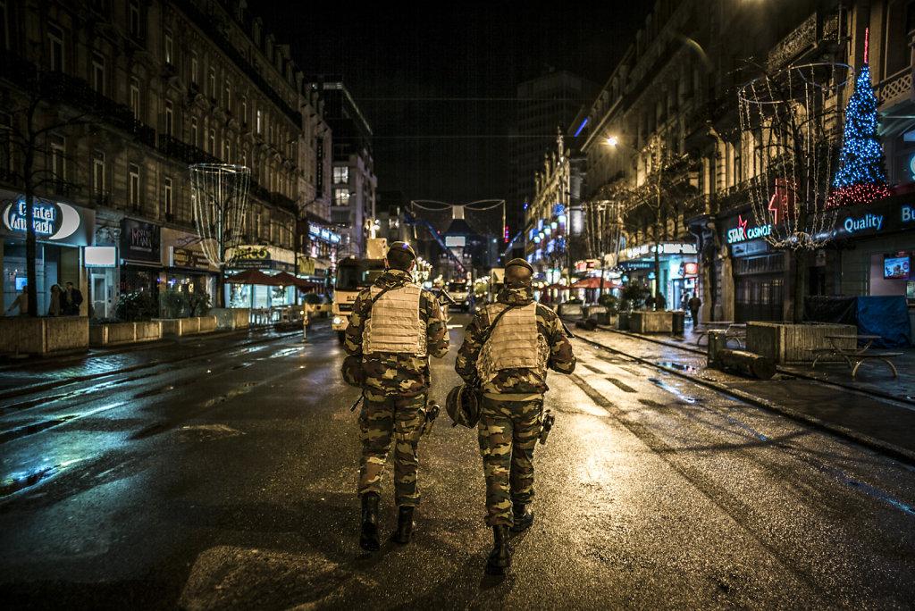 BELGIQUE MOLENBEEK RISQUE D'ATTENTATS ALERTE NIVEAU 4