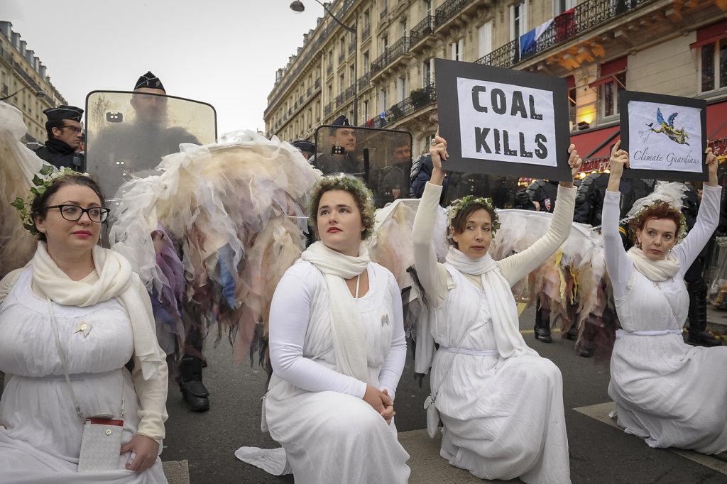 Ouverture de la COP21, République à l'étouffée