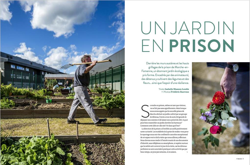 Un jardin en prison, Nest