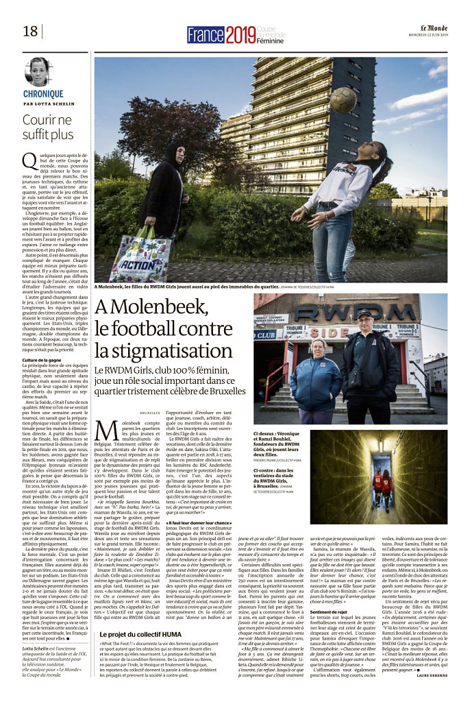 A Molenbeek, le football contre la stigmatisation