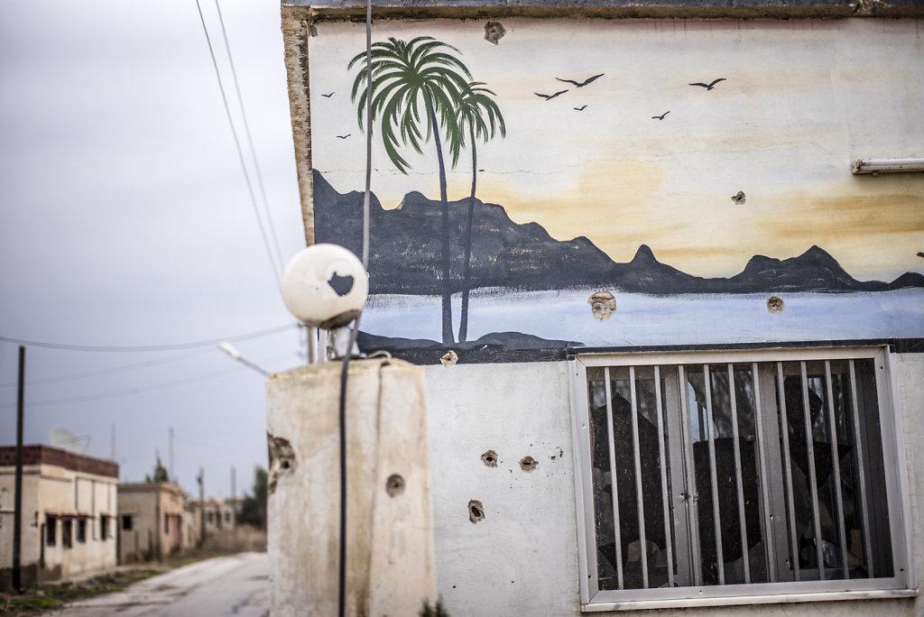 SYRIE TALL NASRI VILLE FANTOME DAESH