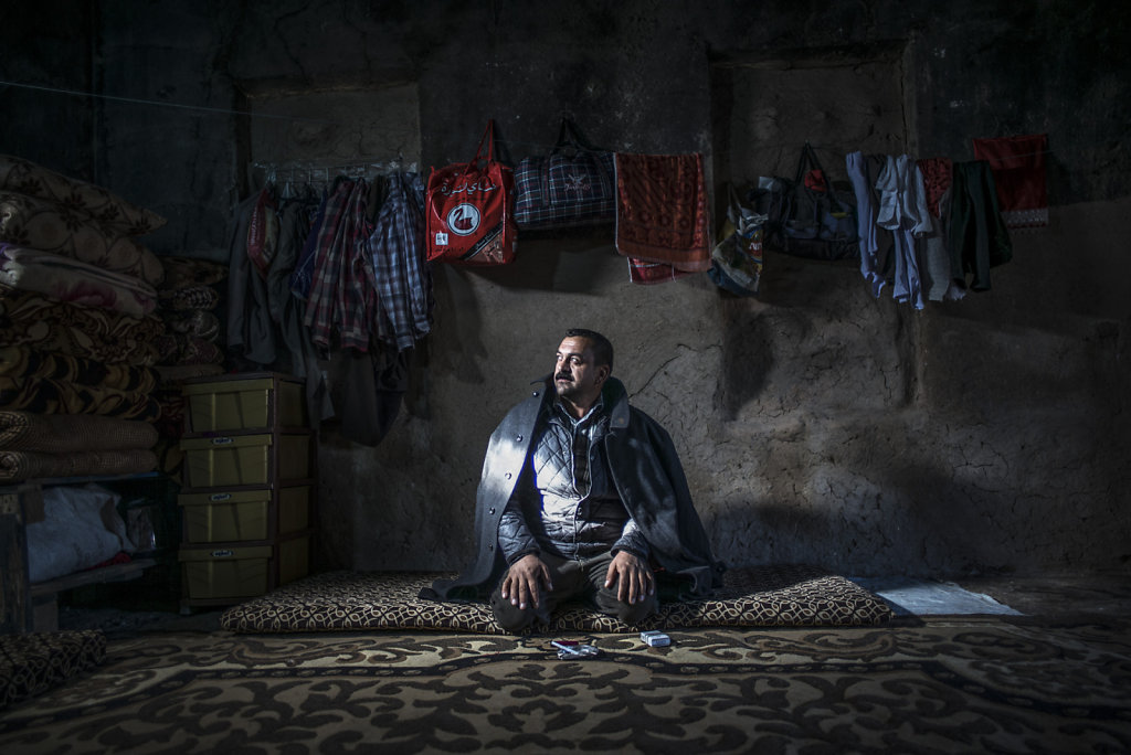 IRAK FISHKABOUR DEPLACES YESIDIS
