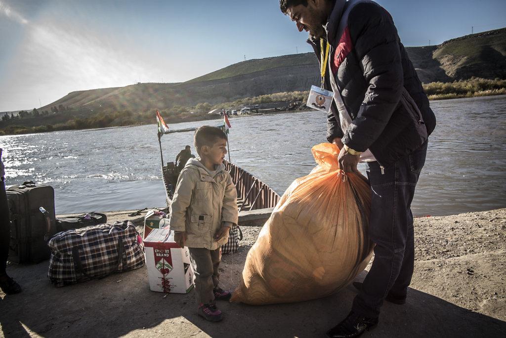 IRAK FISHKABOUR BORDER
