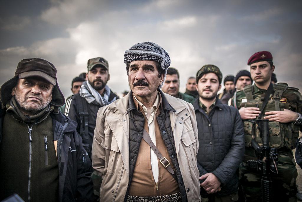 IRAK SINJAR PESHMERGAS
