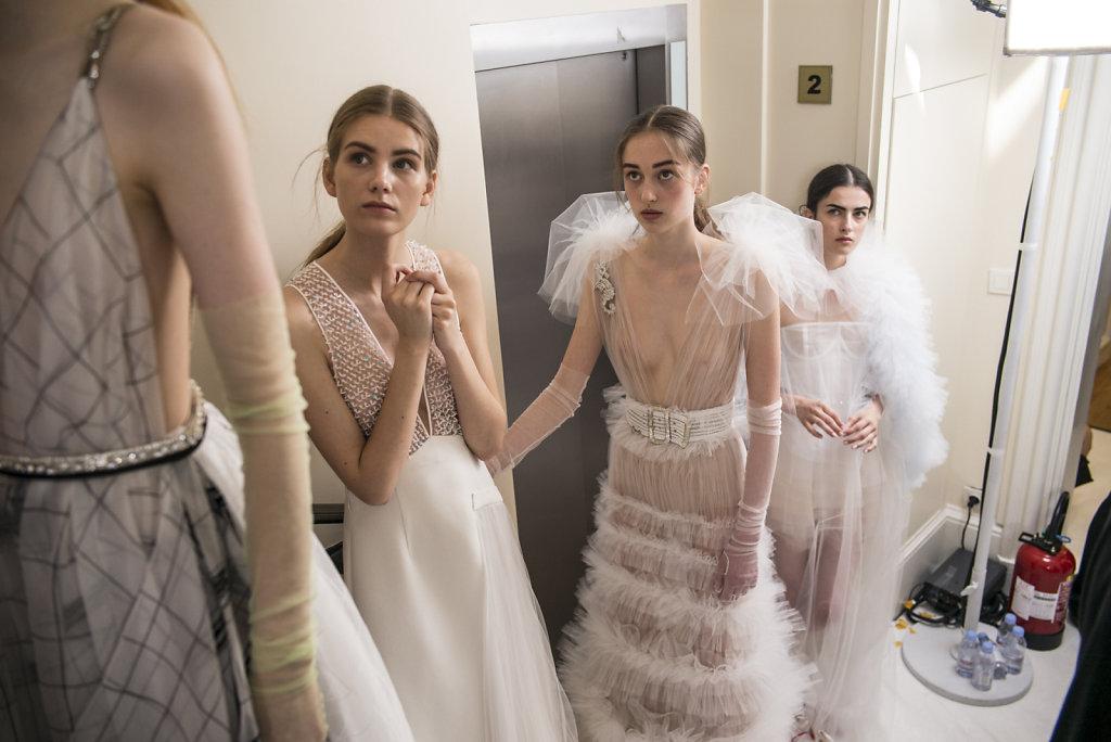 Haute Couture coté coulisses